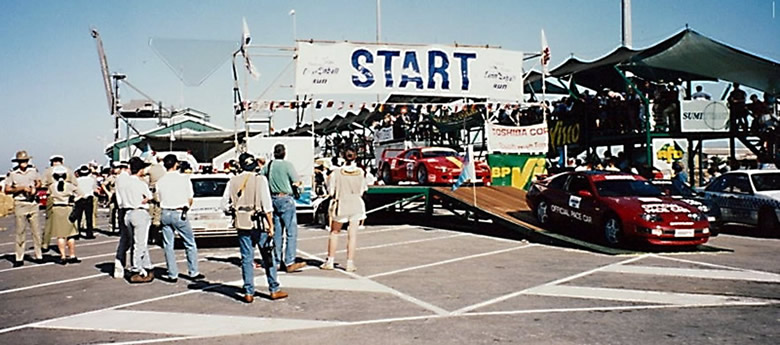 the start of race